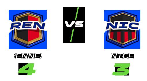 Match Ligue 1 Conforama, Rennes vs Amiens, score 4 pour Rennes et 3 pour Amiens
